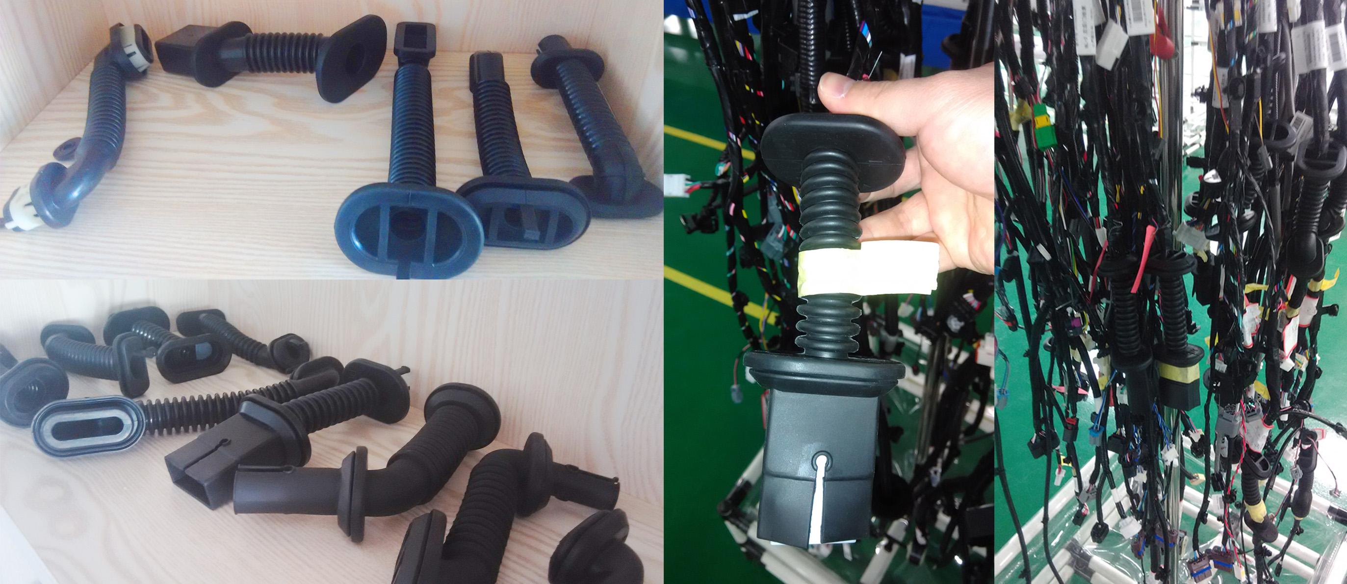 Wholesale Custom Door Wiring Harness Cover Loom Grommet,OEM ... on