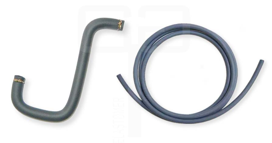 China Top Rubber Fuel Filler Hoses With Smooth Surface For