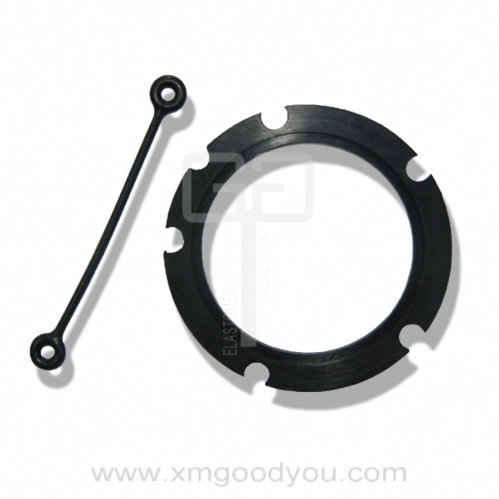 rubber gasket for clock and rubber gasket coupling