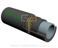 high pressure FKM rubber fuel braided hose