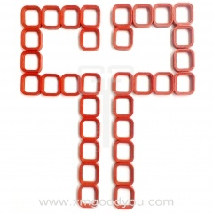 Molding Silicone Rubber Parts Sealing Connector