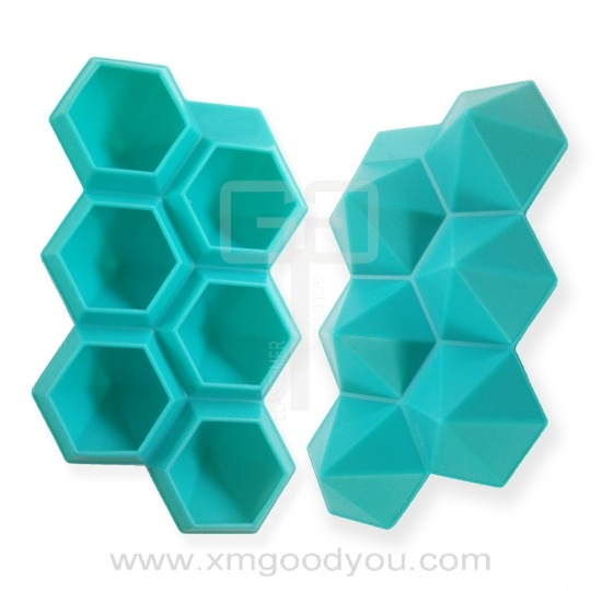 Custom Food Grade Silicone Ice Cube Trays