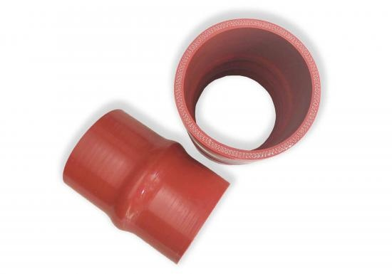 Custom Made Reinforced Red Silicone Hump Hoses
